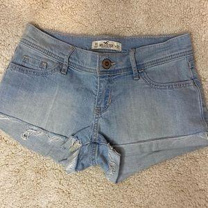 Hollister- Light Blue Jean Shorts, SIZE 00
